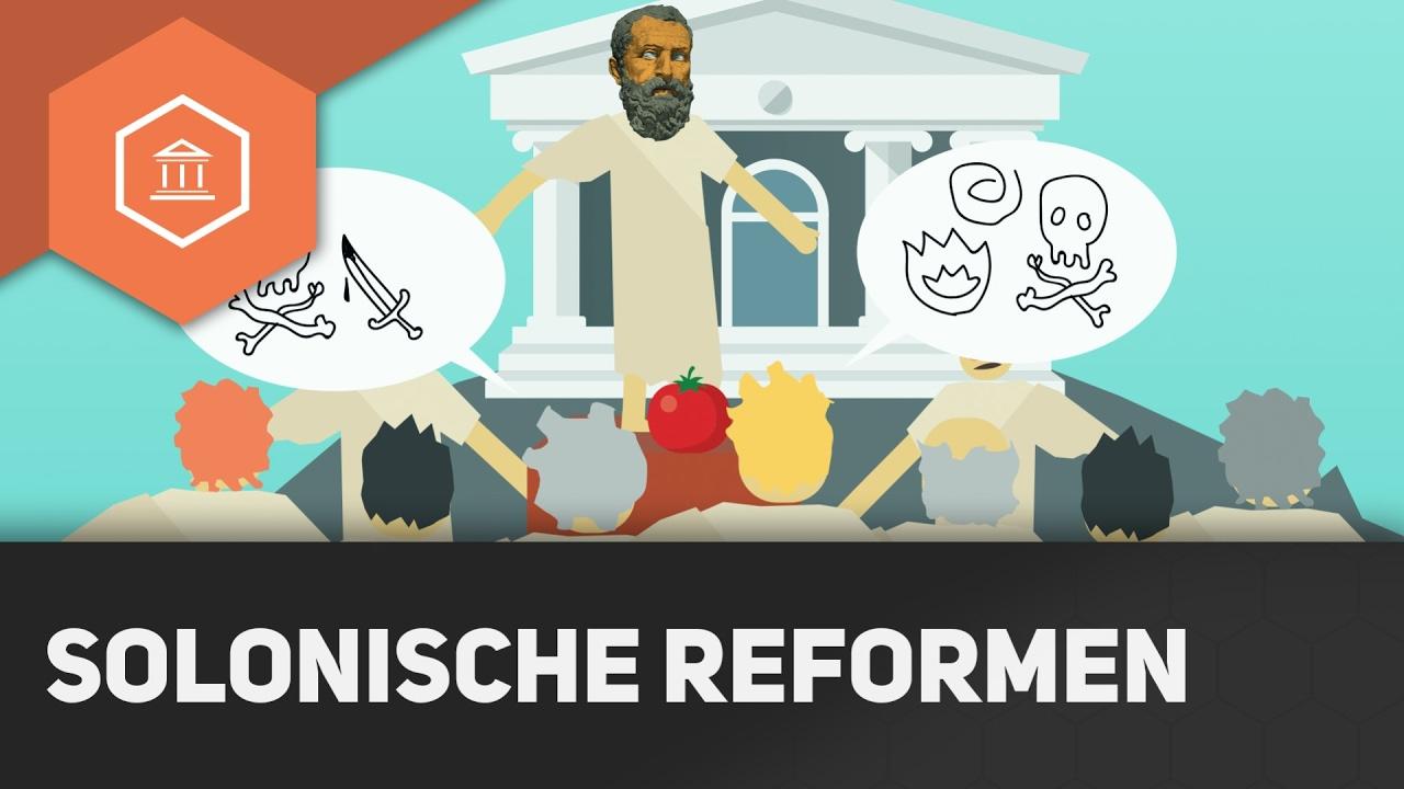 Ausgangslage und Solonische Reformen - Die Attische Demokratie ...