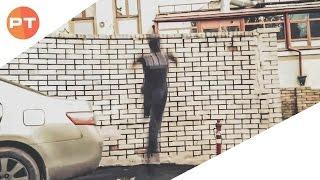 Обучение: Валл ран (забег на стену) (Parkour Tricks)