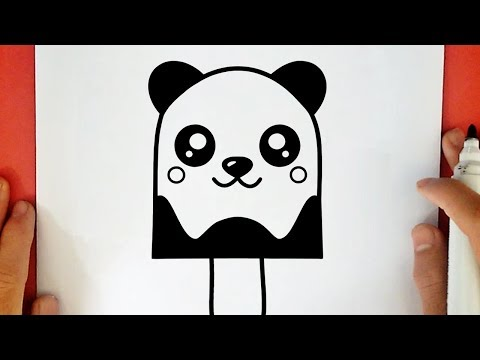 Comment Dessiner Une Glace Panda Kawaii Youtube
