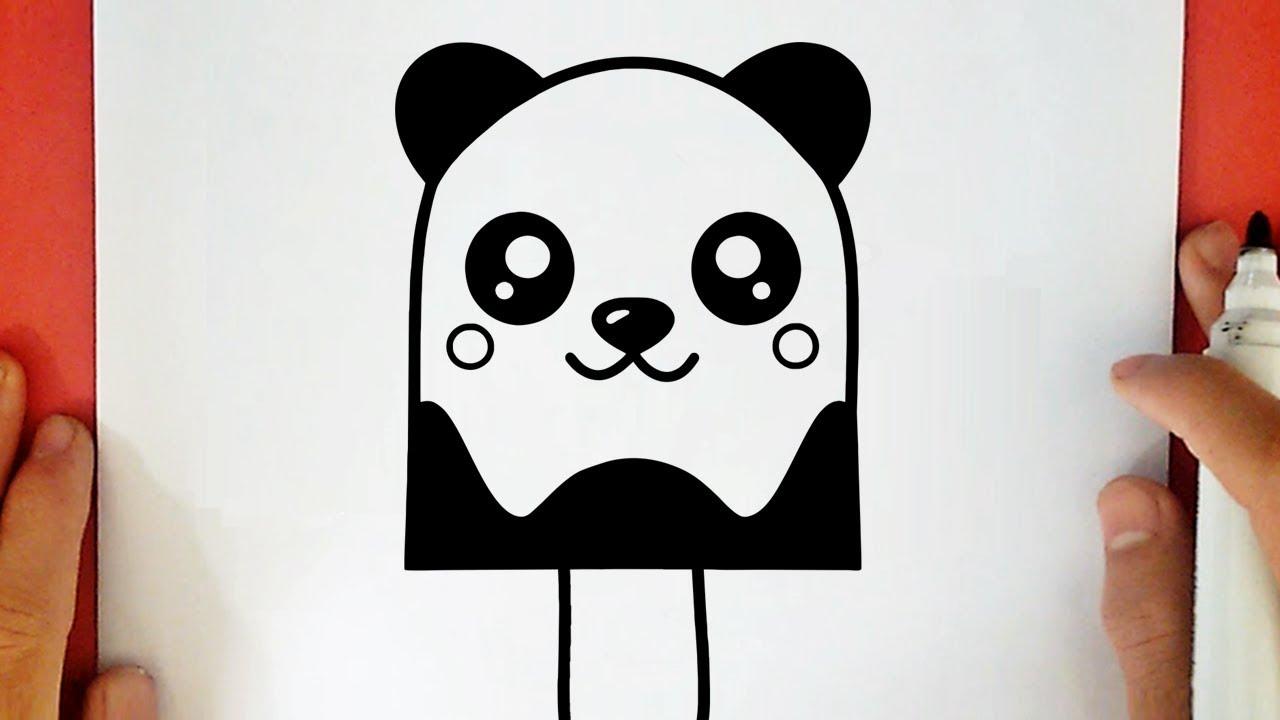 Comment Dessiner Une Glace Panda Kawaii