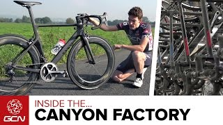 Inside The Canyon Factory – GCN Tours The Canyon Bicycles HQ