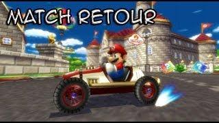 Match retour sur Mario Kart avec MrBboy45