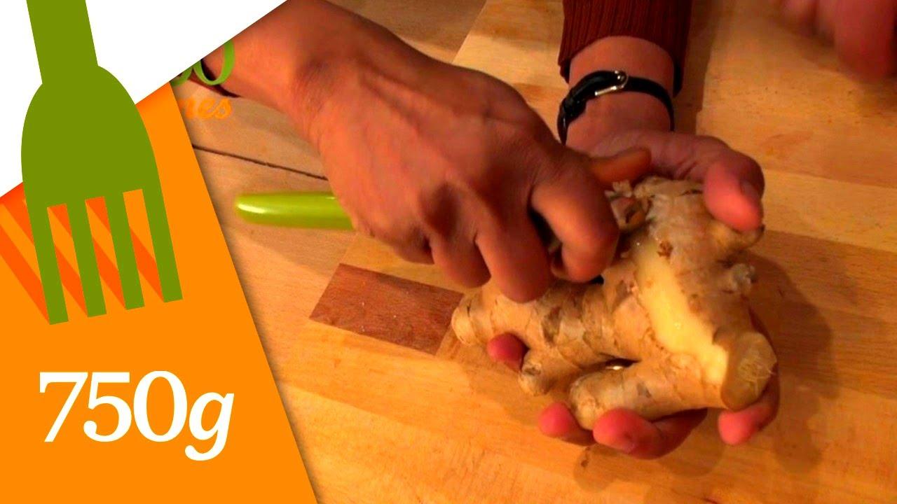 comment éplucher du gingembre ? - 750 grammes - youtube