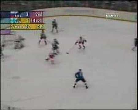 Pavel Bure 5 goal game in Nagano Olympics