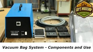 Vacuum Bag System From VacuPress - Components and Use