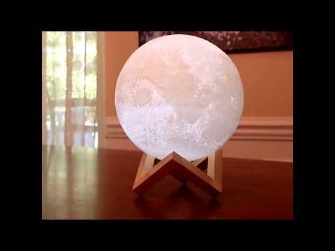 La Lampe Lune Cadeau Ideal Pour Astronome
