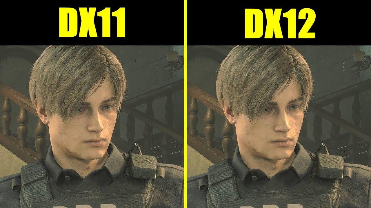 Resident Evil 2 DX12 Vs DX11 RTX 2080 TI Frame Rate Comparison