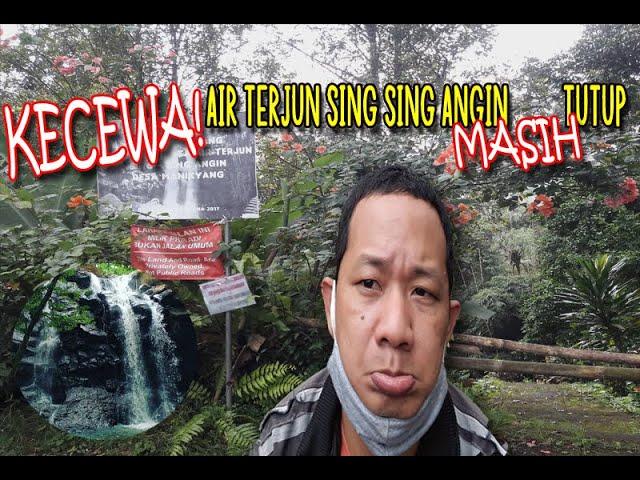 KECEWA! Air Terjun Sing Sing Angin Yang Ngehits di Tabanan Bali Masih Tutup
