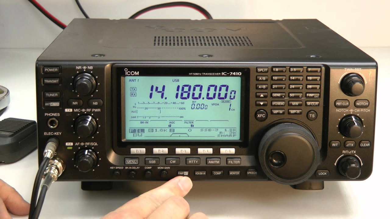 Icom IC-7410 Transceiver Windows 8 X64 Treiber