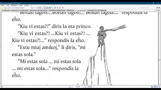Esperanto with the  Little prince/ Chapter 19