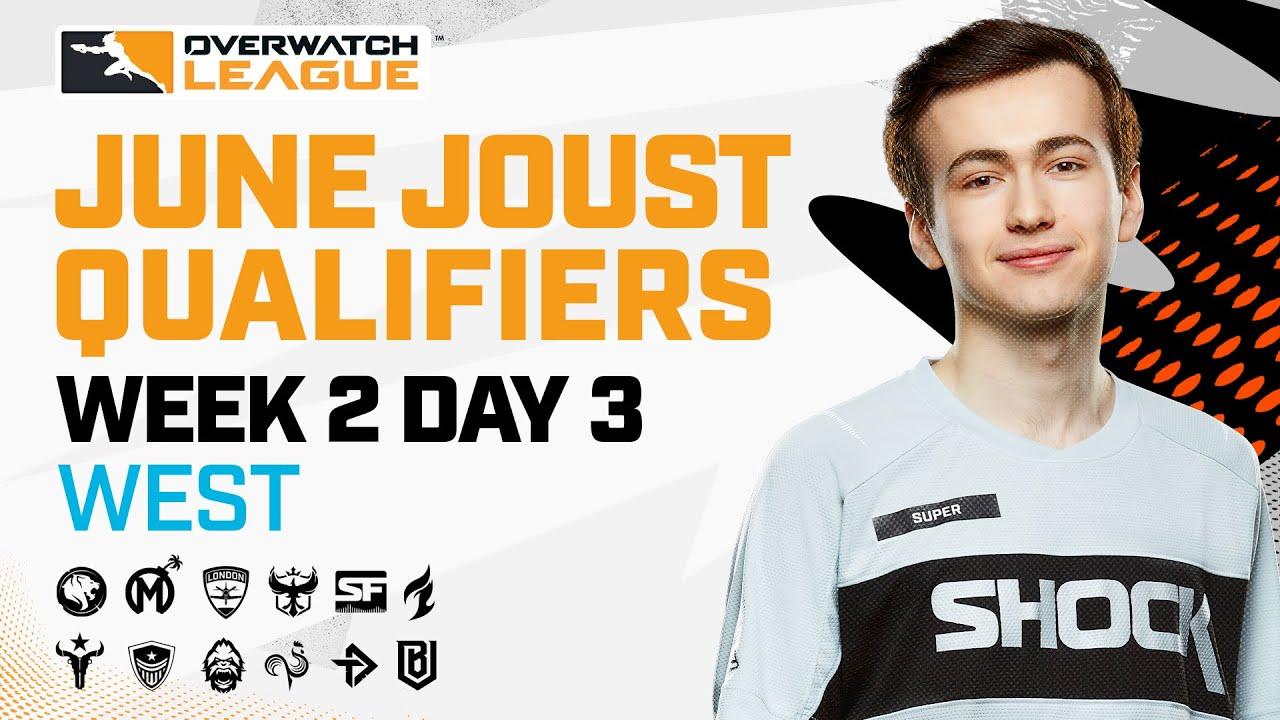 Overwatch League 2021 Season | June Joust Qualifiers | Week 2 Day 3 — West