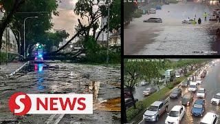Heavy downpour wreaks havoc in parts of KL