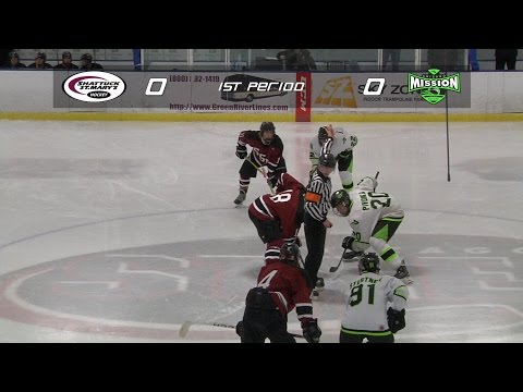 Shattuck St. Mary's VS. Chicago Mission : Semifinal - 2014 Bauer Invite