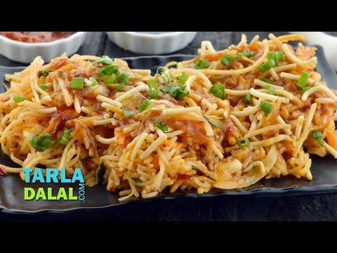 Triple Schezuan Rice (Mumbai Roadside Snacks) by Tarla Dalal