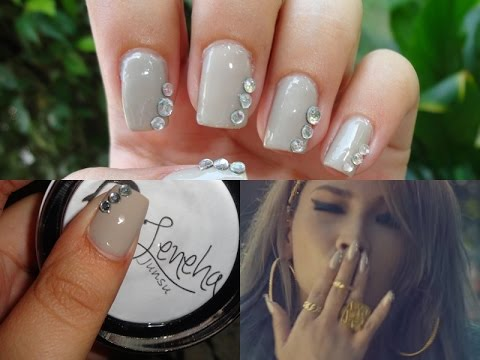 kpop nail art 2ne1 cl lifted