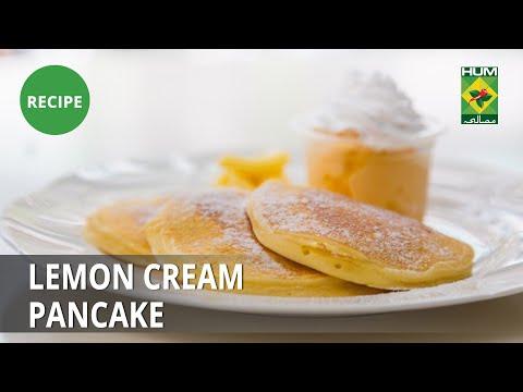 Lemon Cream Pancake Recipe | Lively Weekends | Breakfast Item