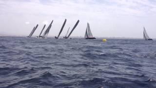 RC44  CUP TRAPANI. Ultima regata di flotta.... Spettacolare es…