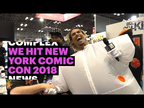 ​Complex News Hit New York Comic Con 2018