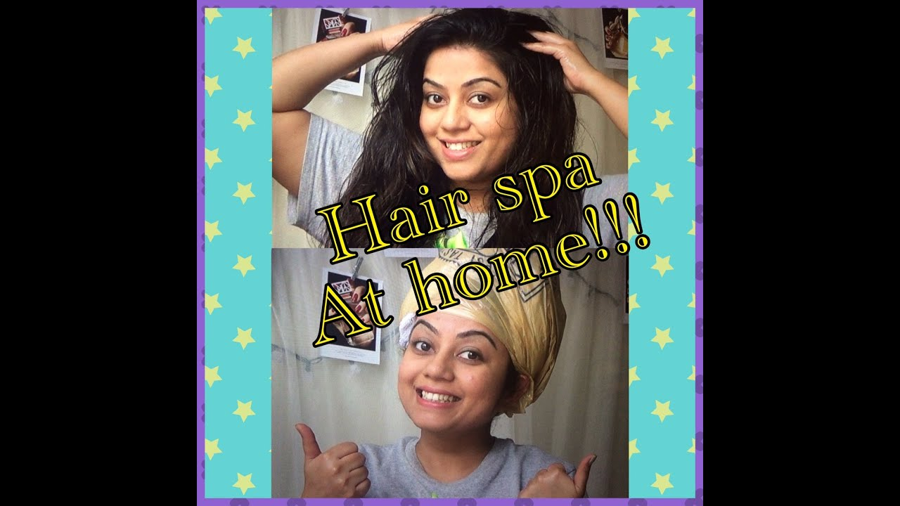 How to do easy hair spa at home moisturize dry n brittle for How to make a beauty salon at home