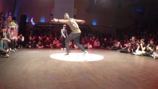 Bgirl Maria (Spanish Hustle) vs Samo, Steet Star 2013.