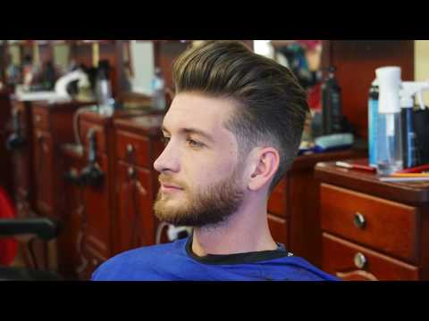 How to Blow Dry and Style Men's Hair