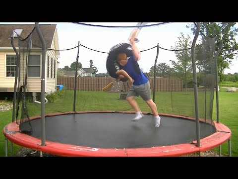 Top 50 WWE Finishers of 2015 on Trampoline
