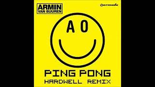 Armin van Buuren   Ping Pong Hardwell Radio Edit