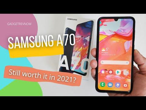 Download Samsung A70 in 2021! (Still worth it?)