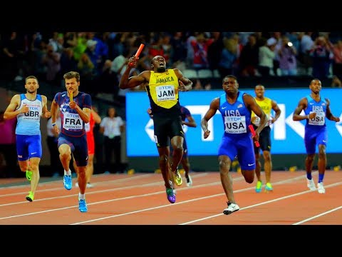 GUTTED: USAIN BOLT injury in last Career Race | Men's 4x100m Relay Final London IAAF 2017