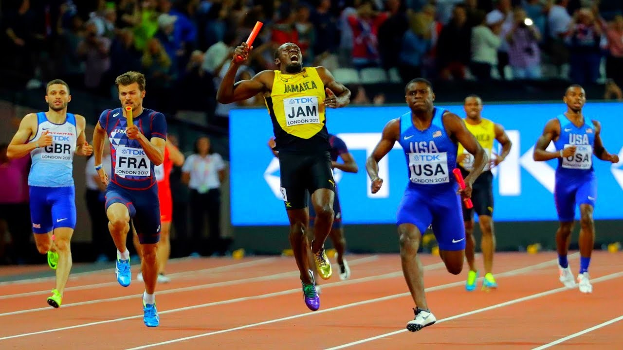 Gutted  Usain Bolt Injury In Last Career Race