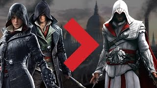Jacob and Evie Fry Are Better Than Ezio - Assassin's Creed Syndicate Review Discussion (Video Game Video Review)