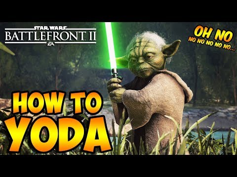 Star Wars Battlefront 2: How to Not Suck - Yoda Hero Guide and Review