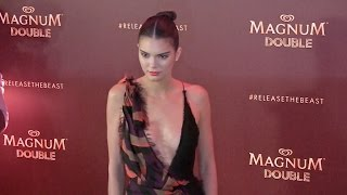 Kendall Jenner and Kris Jenner at Magnum Party in Cannes