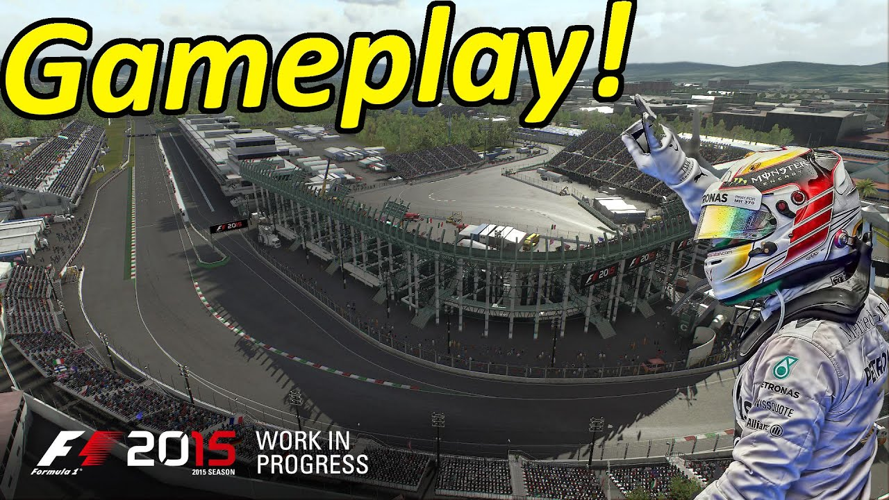 Download F1 2015 Gameplay Mexico Race: Lewis Hamilton