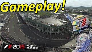 F1 2015 Gameplay Mexico Race: Lewis Hamilton