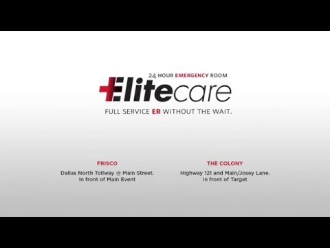 Elite Care 24 Hour Emergency Room Cinema Ad 2