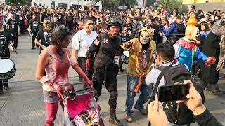 Marcha Zombie CDMX 2018 1ra. Parte