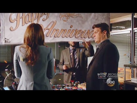 "Castle 8x07  Castle's Surprise for Beckett ""The Last Seduction"" Season 8 Episode 7"
