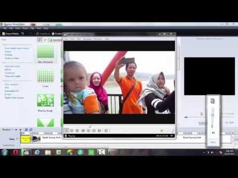 Cara menggabungkan beberapa video ke dalam 1 video memakai movie maker