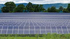 Tesla's Solar Panel Array at Dickinson College