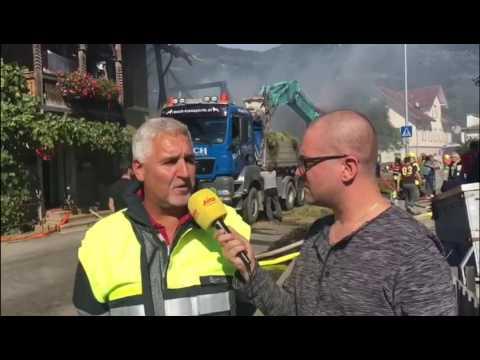 ANTENNE VORARLBERG: Großbrand in Schlins