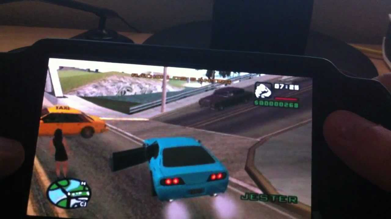 Psvita Gta San Andreas Remote Desktop Youtube
