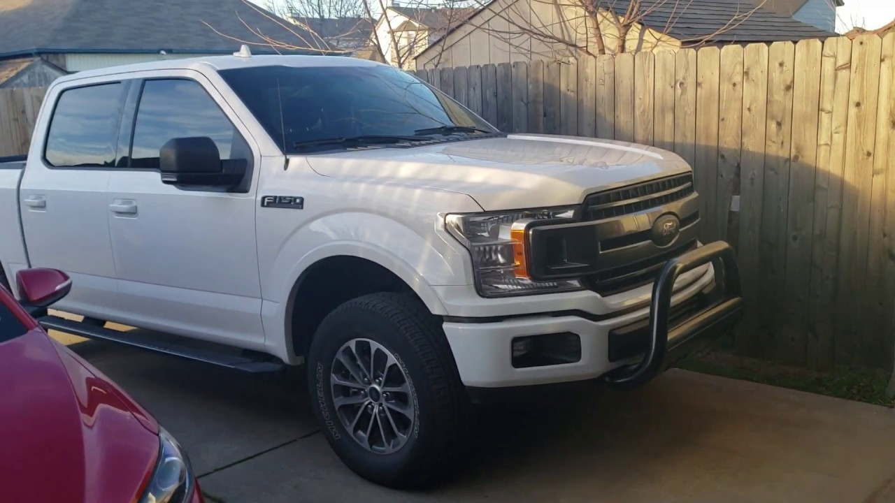 Is This Tint Legal Tint Reveal Remove Air Dam 2018 F150 Youtube