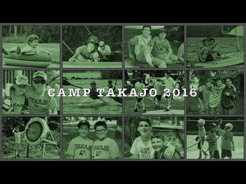 2016 Camp Takajo Yearbook Video