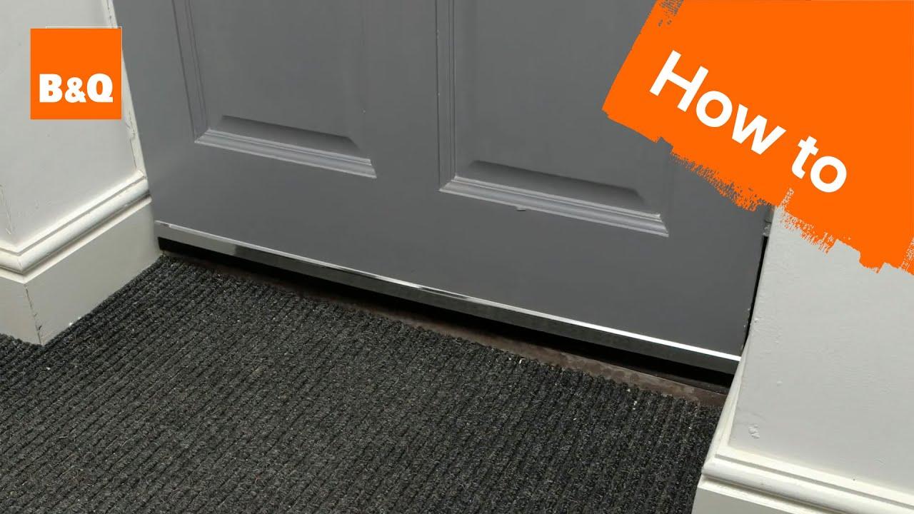 front door draft proofing