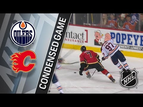 Edmonton Oilers vs Calgary Flames - Dec. 02, 2017 | Game Highlights | NHL 2017/18. Обзор матча