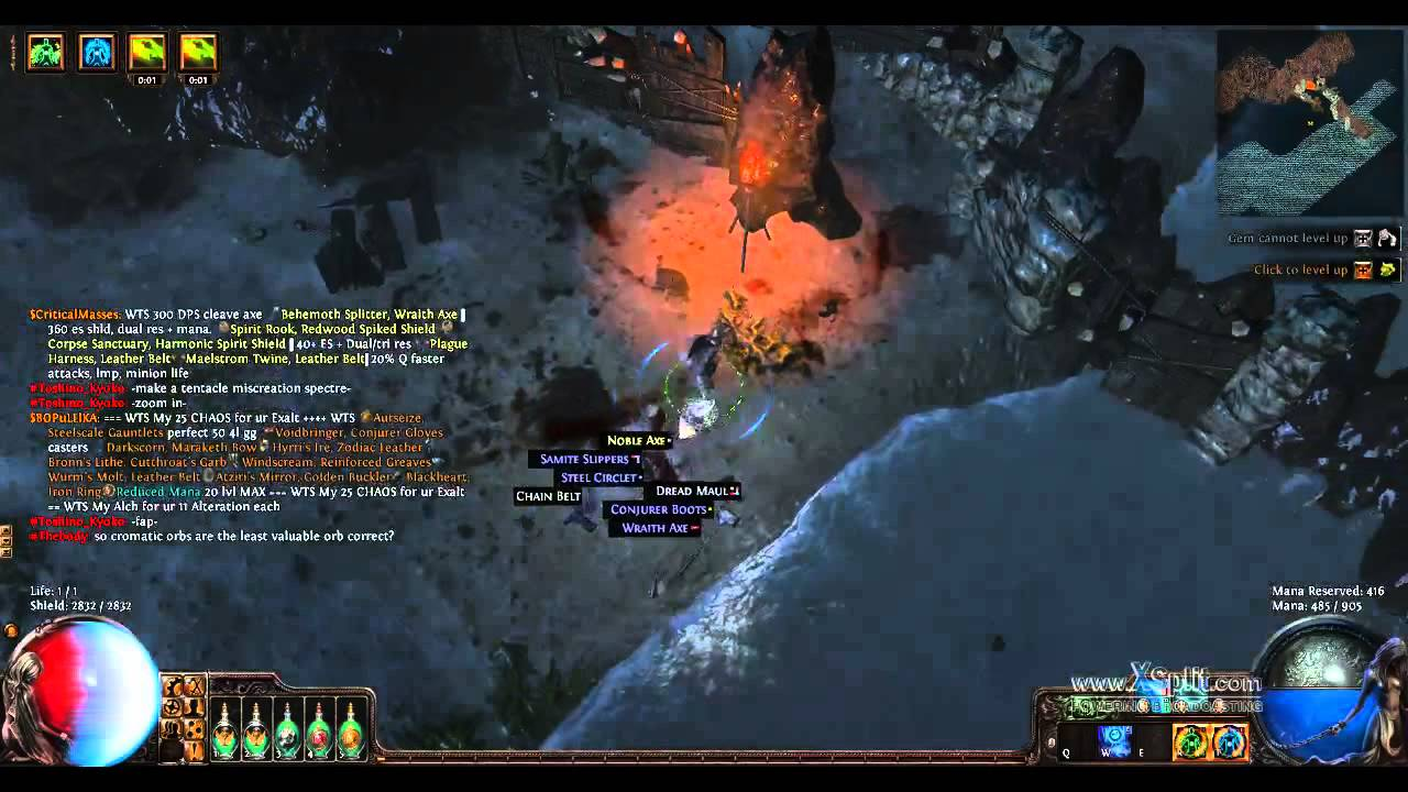 Fastest Way To Farm Alteration and Fusing - Path of Exile