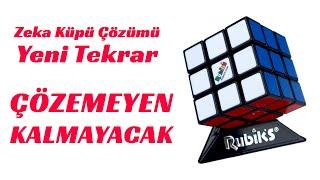 Zeka Küpü Nasıl Çözülür  Rubik Küp Çözümü  Detaylı Anlatım