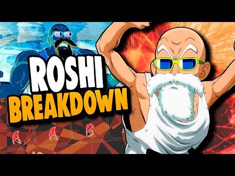 Master Roshi Breakdown! Dragon Ball FighterZ Tips & Tricks