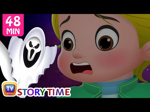 Cussly Gets a Fright - Halloween Stories from ChuChu TV Storytime
